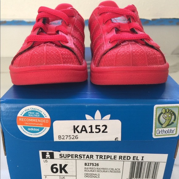 watch f349d 12483 ... coupon for adidas superstar triple red shoes 665e3 bb80f